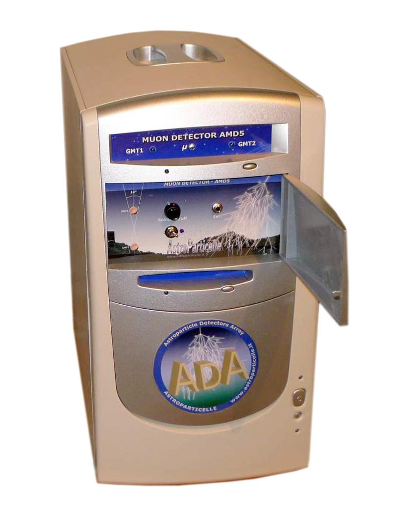 Progetto ADA: un progetto didattico per lo studio dei raggi cosmici