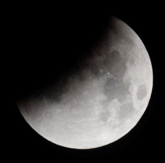 Riprendiamo l'Eclissi Parziale di Luna