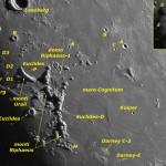 La Luna di Agosto 2017 e una guida all'osservazione dell'Aristarchus Plateau