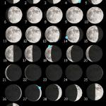 La Luna di Luglio 2017 e una guida all'osservazione dell'Aristarchus Plateau