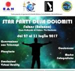 Star Party delle Dolomiti a Falzes (Bolzano)