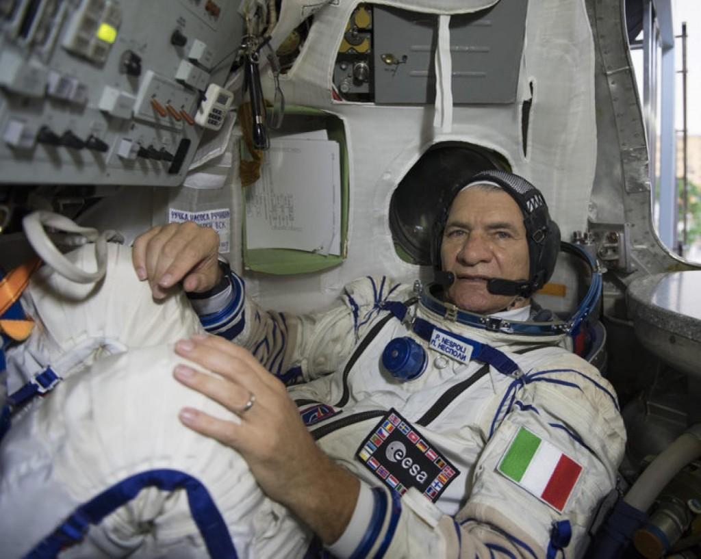 Paolo Nespoli ISS