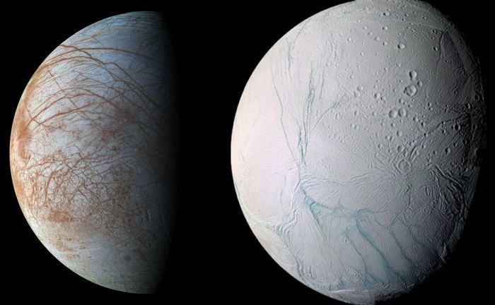Europa e Encelado