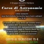 Corsi di Astronomia a Ladispoli (Roma) con il GAP