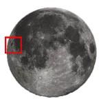 La Luna di Ottobre - I crateri Grimaldi, Hevelius e Riccioli