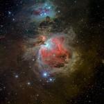 La grande nebulosa di Orione e un saluto al cielo estivo