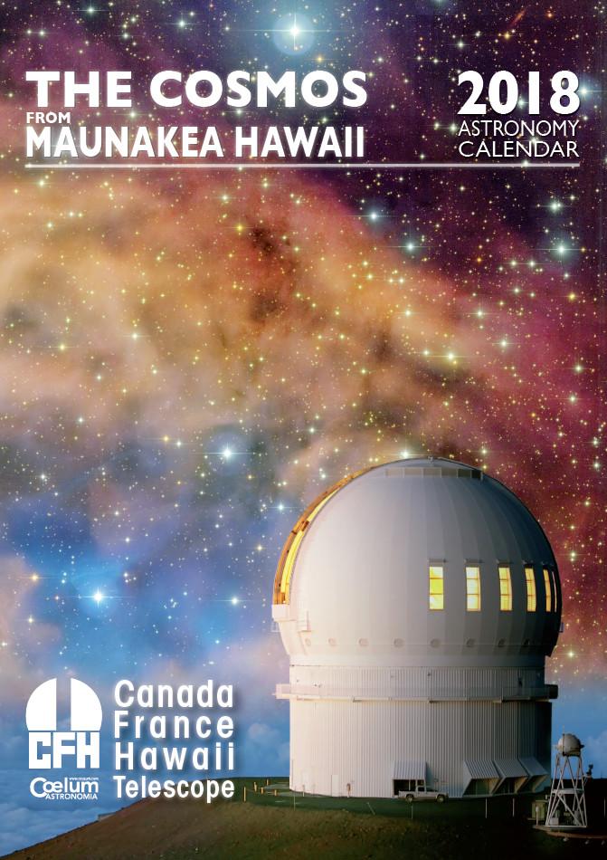 Copertina Calendario CFHT Coelum 2018