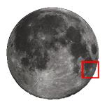 I crateri Langrenus, Vendelinus, Petavius e Furnerius