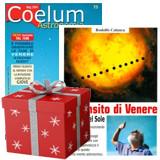 """Pacchetto """"Il Transito di Venere sul Sole"""" (Libro + 5 riviste Coelum)"""