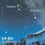 14 dicembre, le Geminidi al meglio!