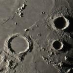 I crateri Archimedes, Aristillus e Autolycus