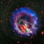 An isolated neutron star in the Small Magellanic Cloud