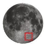 La Luna di Aprile 2018 e una guida all'osservazione del cratere Janssen e della Vallis Rheita