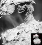 Rosetta svela l'alba dei getti