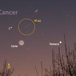 Luci tenui per Luna, Venere e M 44