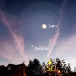Luna e Saturno in opposizione