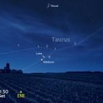 La Luna torna a trovare Aldebaran