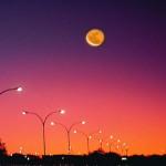 La Luna che cammina... e il bolide del sabato sera