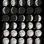 La Luna di Settembre e una guida all'osservazione del Sinus Asperitatis