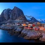 Le aurore boreali dalle Lofoten