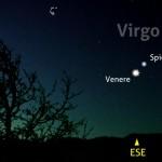 Venere raggiunge Spica nel cielo del mattino