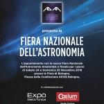 La nuova Fiera Nazionale dell'Astronomia a Bologna