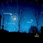 Congiunzione Luna e Aldebaran
