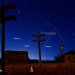 Venere e Giove nel cielo del mattino