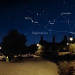 Congiunzione stretta tra Luna e Saturno al mattino