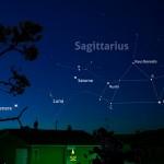 Due mattine tra falci di Luna, Venere e Saturno