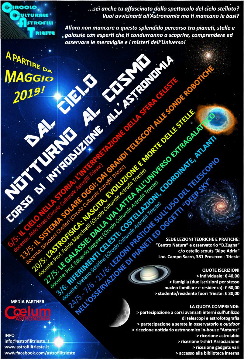 CCAT_Corso di introduzione astronomia 2019