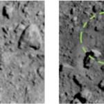 """Hayabusa2 trova il """"suo"""" cratere"""
