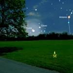 Congiunzione Luna e Giove