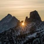 Il Sole nelle fotografie di paesaggio