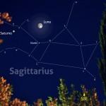 Una Luna Piena per Saturno al suo meglio