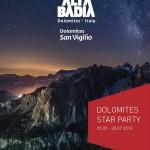 STAR PARTY DELLE DOLOMITI 2019