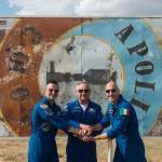 20 luglio: Luca Parmitano pronto per il lancio nel giorno del 50° anniversario dello sbarco sulla Luna