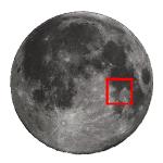 Luna - Guida all'osservazione: dal cratere Taruntius fino al lato orientale del Sinus Asperitatis