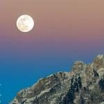 La Luna immersa nei colori pastello per riprese da favola