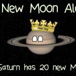 Saturno supera Giove: 20 nuove lune in più per il Signore degli Anelli e, ora, Re delle Lune