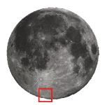 La Luna di Febbraio 2020 e una guida all'osservazione dell'Altipiano Meridionale (II parte)