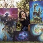 Arte e Astronomia - Le Creazioni di Valentina Rech