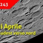 La Luna di Aprile 2020 e l'osservazione dal settore sudovest verso nord (I parte)