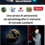 La notte delle comete e degli asteroidi