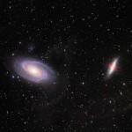 Messier 81 e Messier 82