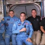 L'equipaggio della Crew Dragon è a bordo della Iss