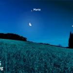 Notte bianca con la Luna, Aldebaran, tanti pianeti e... la cometa!