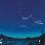 Due appuntamenti al mattino con Venere e Regolo, in congiunzione stretta, e Luna e Marte.