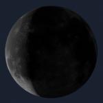 Le sottili falci di Luna in Aprile 2021