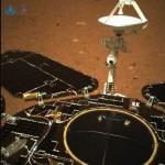 Marte. Prime foto da Zhurong